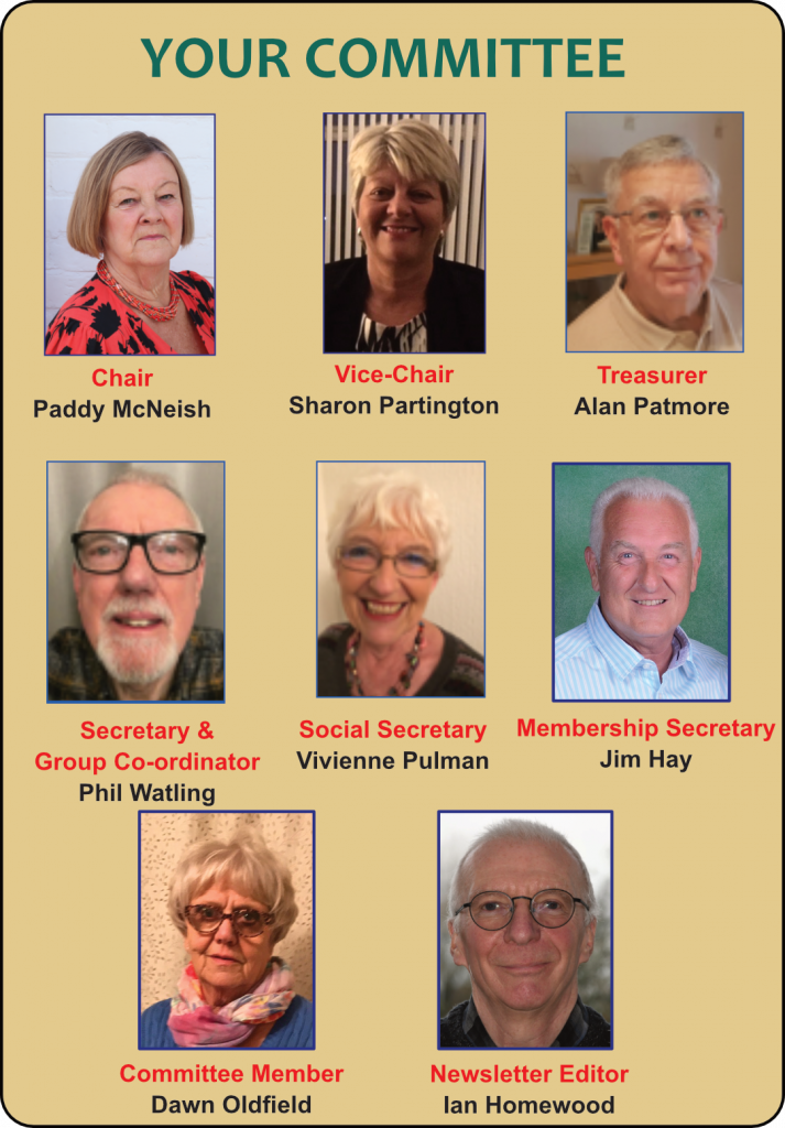 Southport u3a Committee Members